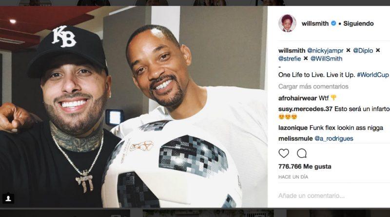 Will Smith, Nicky Jam y Era Istrefi cantarán himno del Mundial Rusia 2018
