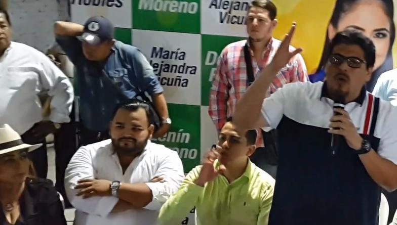 CONFUSIÓN EN CIUDADANÍA SOBRE APOYO DE DIRECTIVA AP-GUAYAS A LA REELECCION DE ALCALDESA DE MILAGRO.