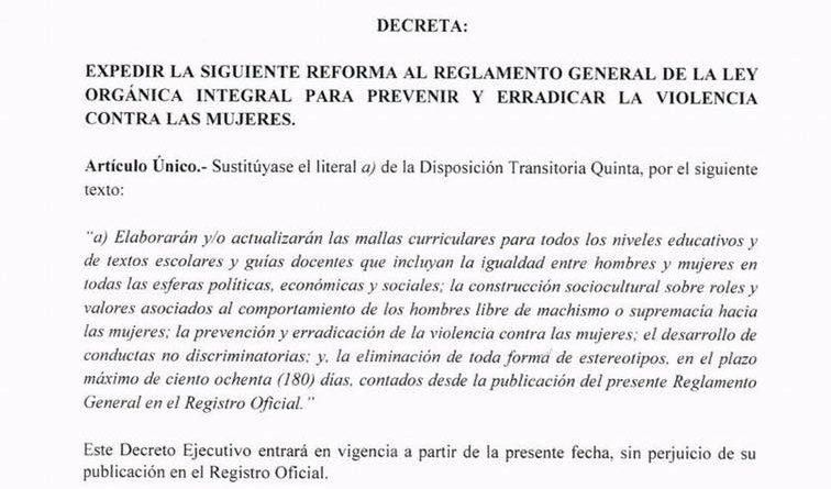 Se modificó el polémico decreto 397