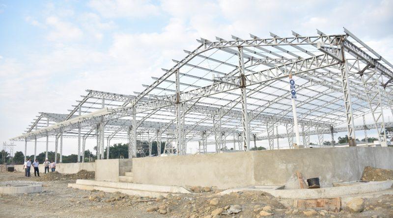 Avanza construcción mercado de transferencias en #Milagro