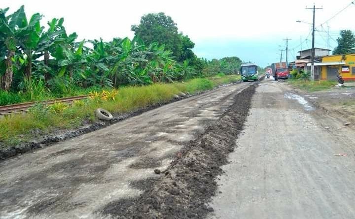 Se iniciará asfaltado de la Vía a Chobo en #Milagro