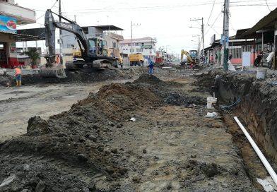 Se trabaja en la regeneración del segundo tramo de avenida Colón