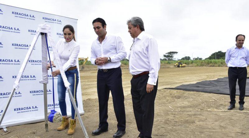 En #Milagro se construirá nueva empresa que genera nuevas fuentes de empleo