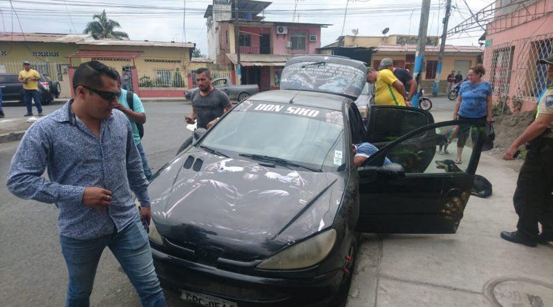 Vehículo abandonado alarmó a los moradores del Nuevo Milagro