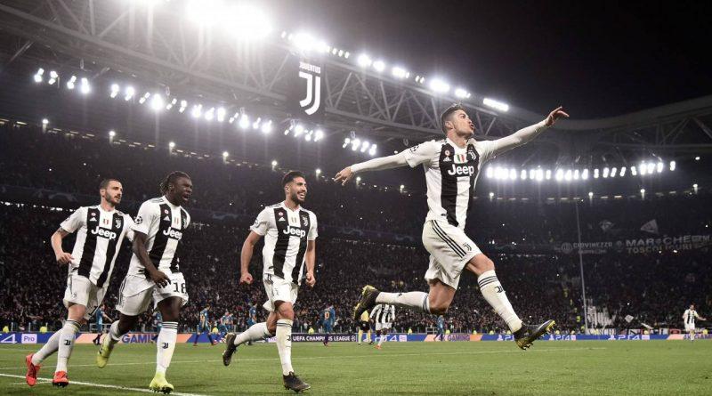 Hat-Trick de Cristiano Ronaldo pone a la Juventus en cuartos de final de Champions League
