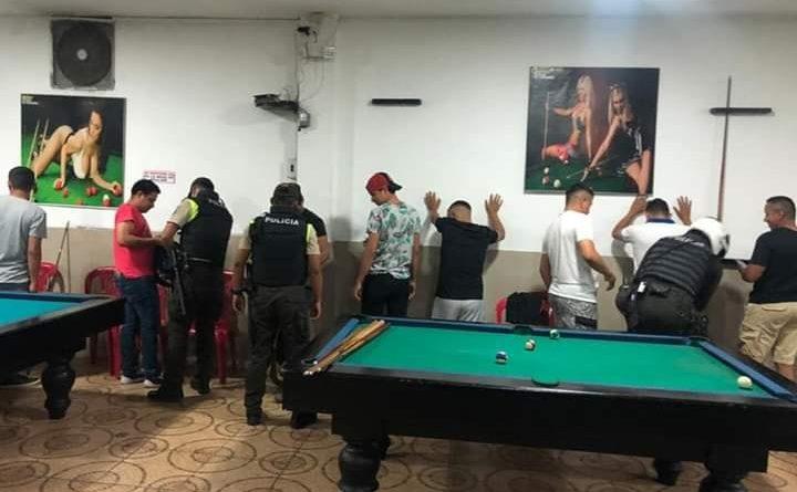 OPERATIVOS SORPRESA A BILLARES