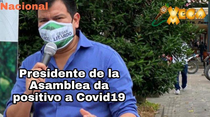 PRESIDENTE DE ASAMBLEA DEL ECUADOR, CESAR LITARDO ES DIAGNOSTICADO CON COVID-19