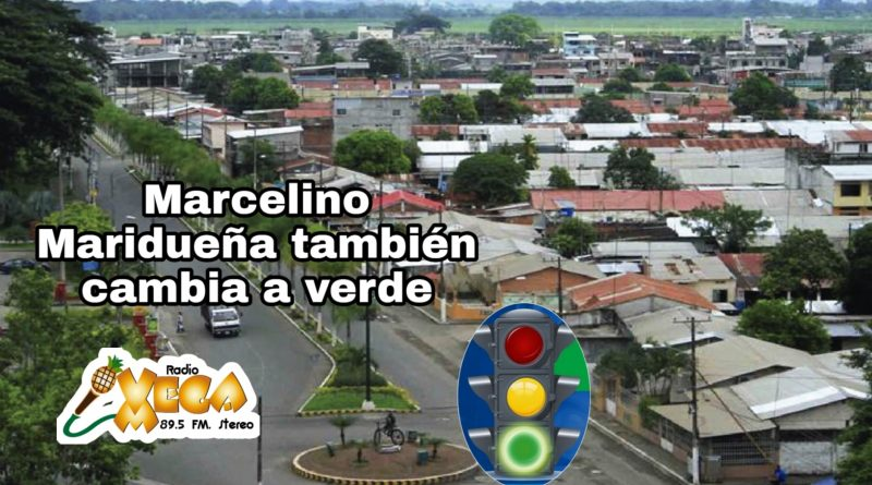 MARCELINO MARIDUEÑA CAMBIA A SEMÁFORO VERDE