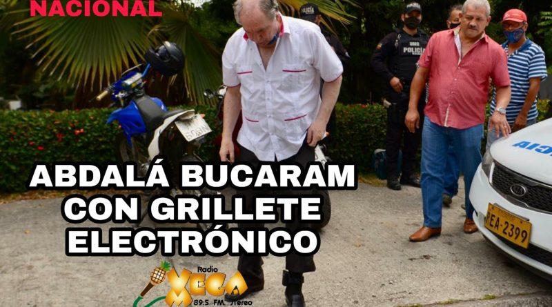 BUCARAM CON GRILLETE ELECTRÓNICO