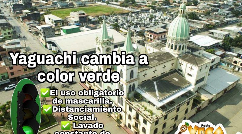 YAGUACHI CAMBIA EL SEMÁFORO A VERDE