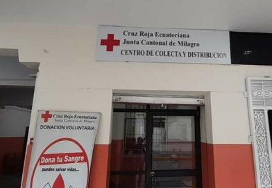 CRUZ ROJA SIGUE RECEPTADANDO DONACIÓN DE SANGRE