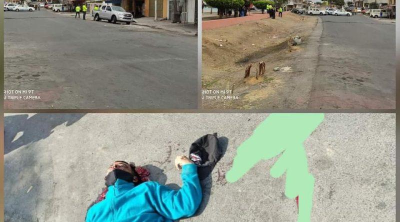 POLICIAS QUE ESTABAN DESAYUNANDO, REPELEN ASALTO CAYENDO UNO DE LOS SUPUESTOS DELINCUENTES ABATIDO