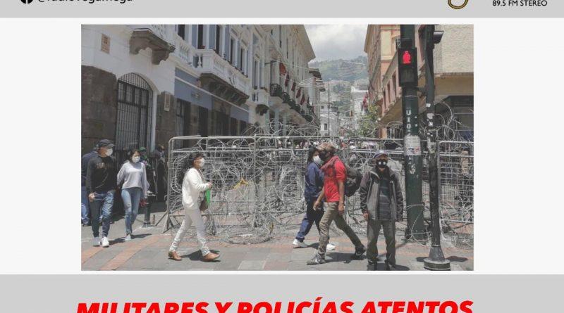 CENTRO HISTÓRICO DE QUITO TOTALMENTE RESGUARDADO