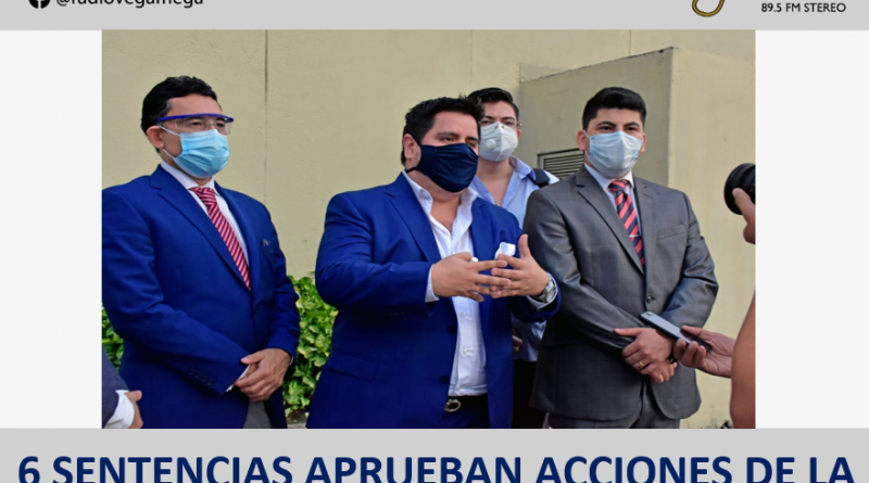 DE OCHO ACCIONES DE PROTECCIÓN PRESENTADAS POR LAS CONCESIONARIAS CONCEGUA Y CONORTE SEIS HAN SIDO DECLARADAS IMPROCEDENTES
