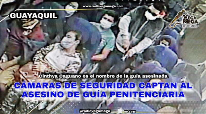 CINTHYA CAGUANO IBA DURMIENDO EN EL BUS CUANDO SICARIO LA MATÓ