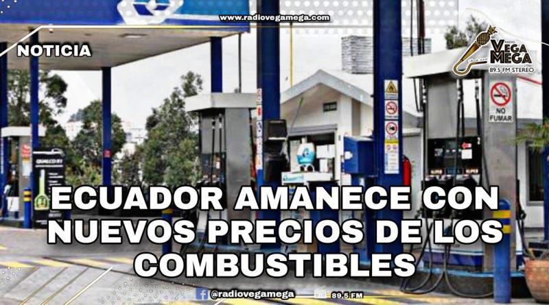 NUEVOS PRECIOS DE LOS COMBUSTIBLES