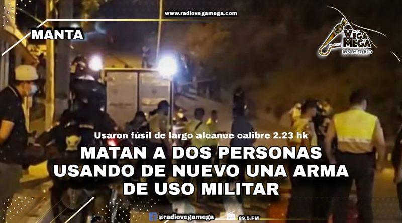 UTILIZARON LAS MISMAS ARMAS QUE MATARON A «LOLO», EN DOBLE CRIMEN LA NOCHE DE ESTE JUEVES