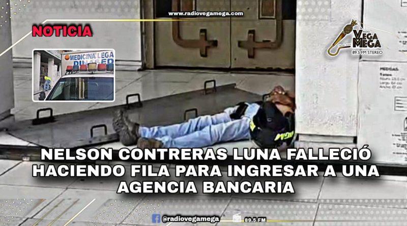 NELSON MURIÓ HACIENDO FILA