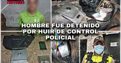 HOMBRE DETENIDO POR POSESIÓN DE SUSTANCIAS SUJETAS A FISCALIZACIÓN