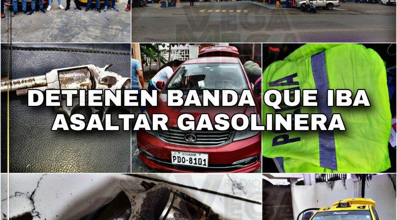DETENIDOS ANTES DE ASALTAR GASOLINERA