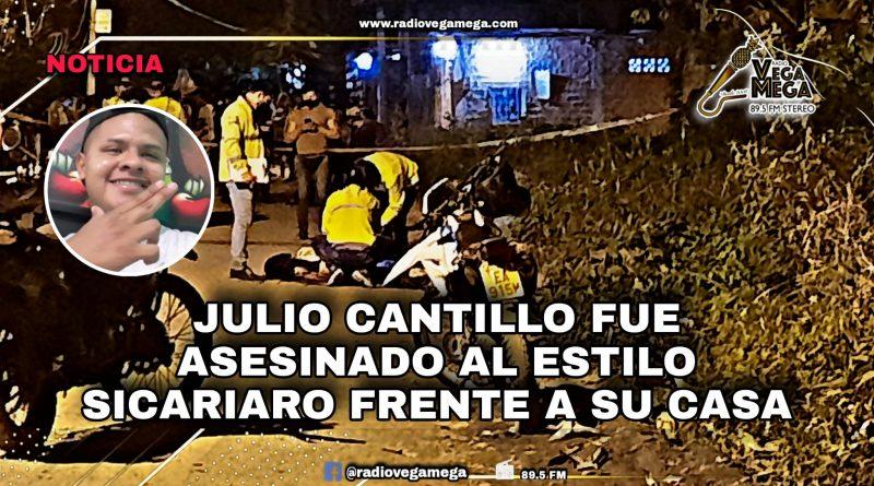 FUE ASESINADO FRENTE A SU CASA