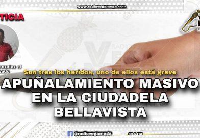 APUÑALAMIENTO MASIVO EN LA BELLAVISTA DEJA 3 HERIDOS