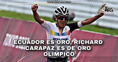 RICHARD CARAPAZ ES CAMPEÓN OLÍMPICO