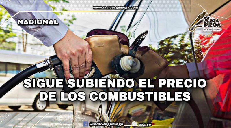 NO PARA DE SUBIR EL PRECIO DE LOS COMBUSTIBLES